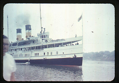 4 Early Original Steamship Cayuga Toronto Ontario Canada 35mm Slides