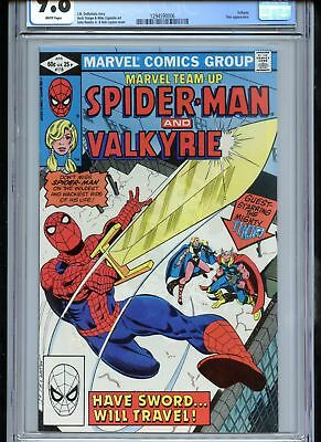 Marvel Team-Up #116 CGC 9.8 White Pages Valkyrie Thor