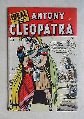Ideal #1 (Jul 1948, Timely) GOLDEN-AGE White Pages CLEOPATRA Timely / Atlas #1