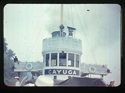 7 Early Original Steamship Cayuga Toronto Ontario Canada 35mm Slides