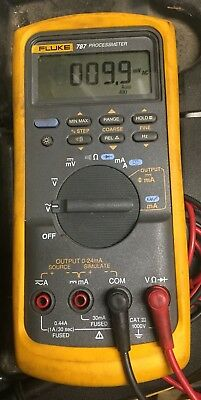 Fluke 787 Processmeter and Leads