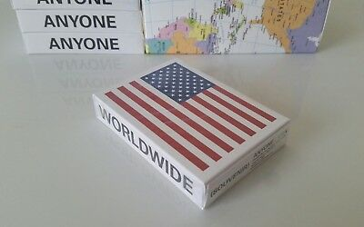 Anyone Worldwide Souvenir USA Playing Cards (A1WW Fontaine Verts Supreme)