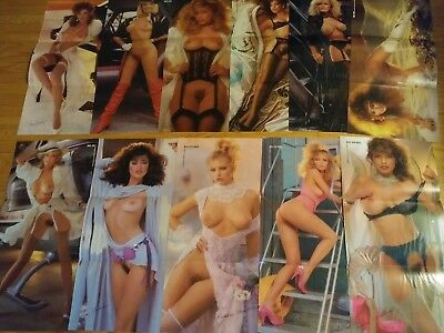 Playboy Magazine 1986 Complete Centerfold Collection Pin-ups! Lot 23