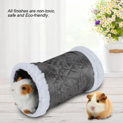 2 Ways Small Animal Tunnel Cotton Hamster Guinea Pig Exercise Toys Pet Tube