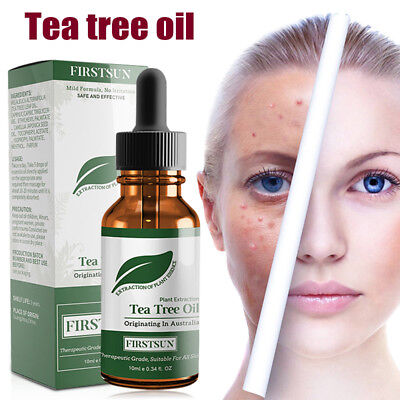 Tea Tree Essential Oil Shrink Pores Acne Removal Oil Control Facial Massage Care