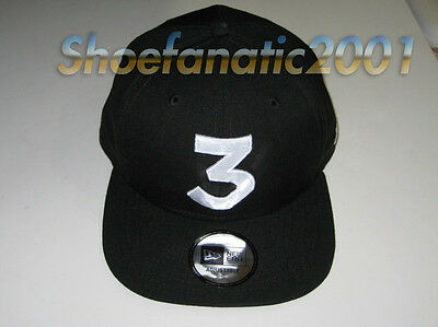 51849c6bd5b New Era Chance the Rapper Chance 3 Snapback Hat Black Embroidered Logo  Chicago