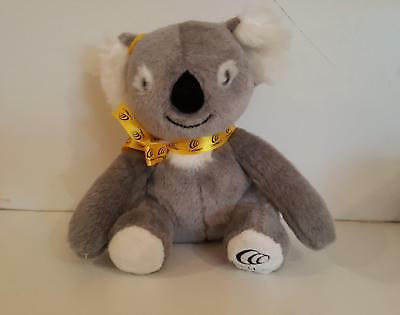 Cochlear Koala plush toy in excellent condition 26cm tall sitting position