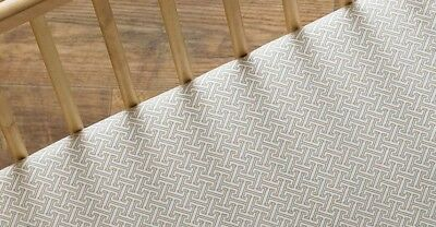Lolli Living Cot Sheet Fitted Sheet - Animal Tree Tan Labyrinth