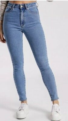 Abrand High Skinny Jeans Size 10/28