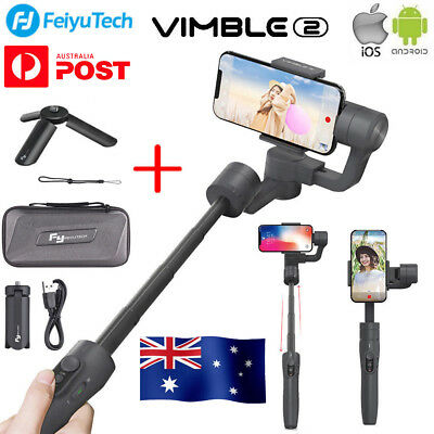 Feiyu Vimble2 3-Axis Extendable Handheld Gimbal Stabilizer for Mobile Phone PM