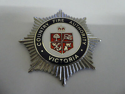 Victoria Country Fire Authority  badge