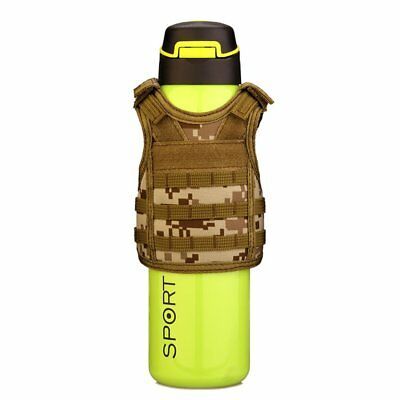 Molle Mini Miniature Vests Beverage Cooler Cover Adjustable Shoulder Straps CO1