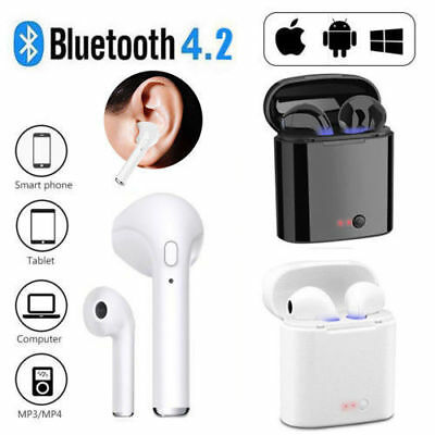 Wireless Bluetooth Sport Gym Earphone Headset For i Phone XS XR X 8 7 6s Samsung