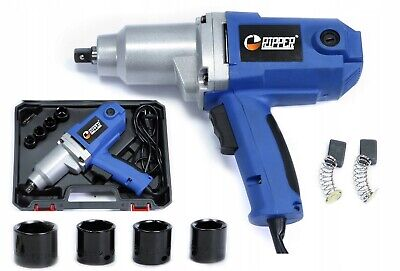 "ELECTRIC IMPACT WRENCH RIPPER 2300W 800 Nm 230V 1/2"" DRIVE MEGA POWER NEW BOX"