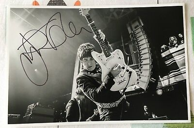 Johnny Marr signed 12x8 photograph The Smiths autograph Fender icon Morrissey