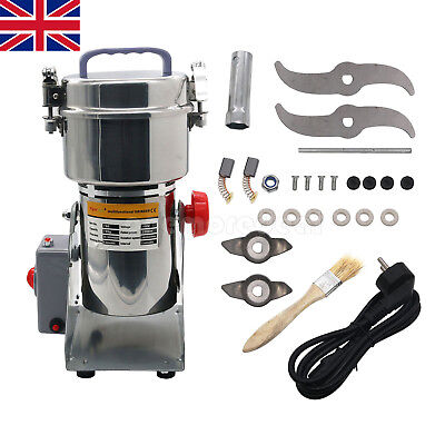 700G Grains Spices Hebals Cereals Coffee 2500W Grinder Mill Grinding Machine UK