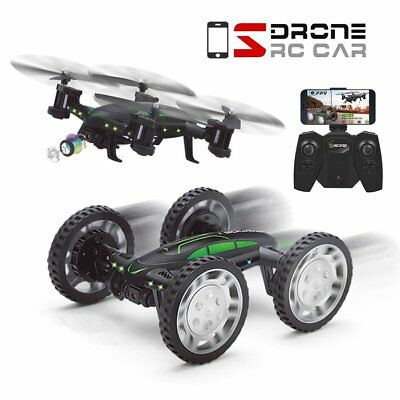 QQPOW FPV RC Drone with 3D Flip with HD Camera Live Video, Remote Control Car