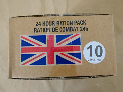 Menue #10 GB ARMY 24 Hour Combat Ration MRE EPA SURVIVAL Notration Verpflegung
