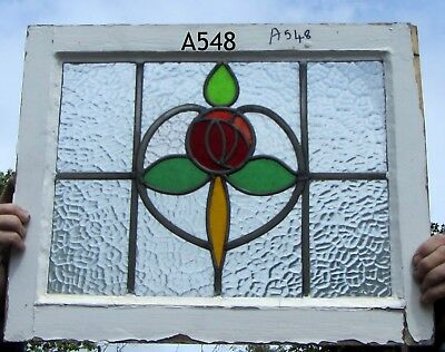 A548 Stained Glass  Ca 1910