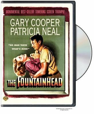 THE FOUNTAINHEAD - 1949 Gary Cooper Brand New Sealed UK Region 2 Compatible DVD