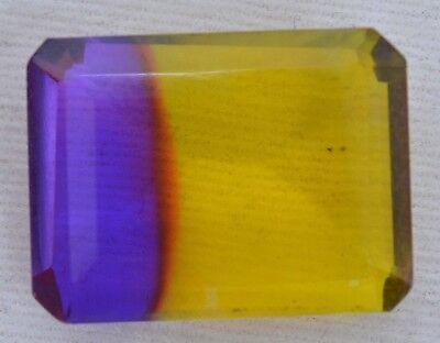 24.60 Ct Multi-Color Ametrine Loose GGL Certified VVS Best Quality Gemstone