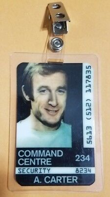 Space 1999 Id Badge -Command Center A. Carter prop costume cosplay