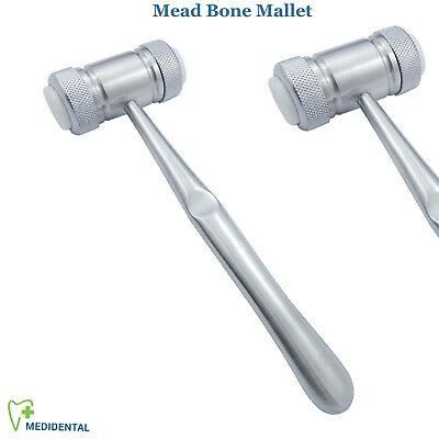 Surgical Orthodontic Implants Mead Mallet Hammer Dental Bone Surgery Instruments