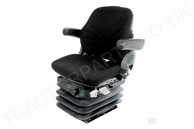 Xl Case International Tractor Seat Grammer Maximo Basic Black Type Agricultural