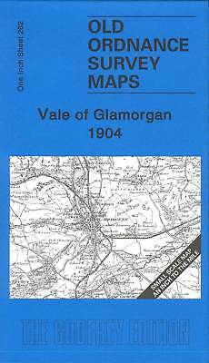 Old Ordnance Survey Map Vale Of Glamorgan 1904