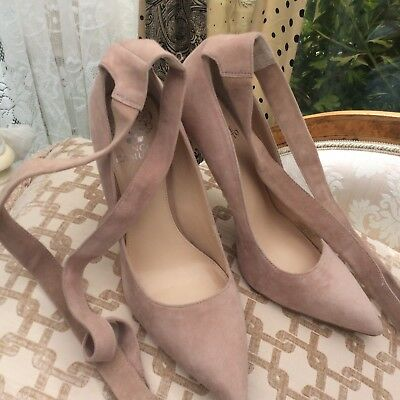Vince Camuto suede Nude Pink Shoes New Size 40 Uk 6.5 Us 9