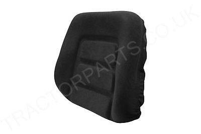 Grammer DS8590 Type Tractor Seat Back Cushion - Case IH XL David Brown DB Black