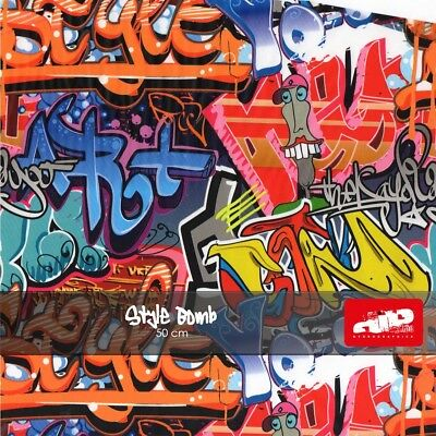 STYLE BOMB Hydrographics Film - Hydro Dipping folded film STICKER BOMB