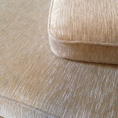 Cushions Covers Only for Ercol Studio Couch/ Daybed. Neutral colour. Unused