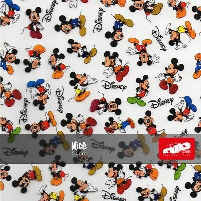 COLOUR MICKEY MOUSE Hydrographics Film - Hydro Dipping folded film CARTOON
