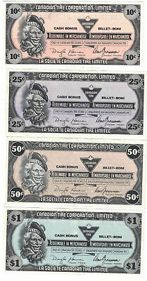 Novelty Canadian Tire Banknotes from the 1990's.