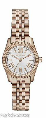c484556f9e8f Michael Kors Mini Stainless Steel Lexington Rose Gold-tone Women s Watch  MK3230