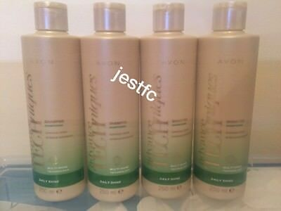 Avon~ADVANCE TECHNIQUES~Daily Shine~SHAMPOO~x4 Lots STOCK UP!!