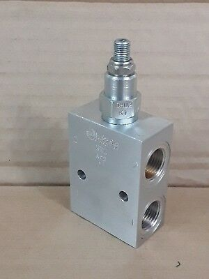 "Sun Hydraulic Through Port Relief Valve RPEC-LDN-WNZ 55BAR Max 1/2"" Ports *"