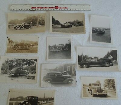 10 Vintage American Automobiles Auto Car photos Photograghs
