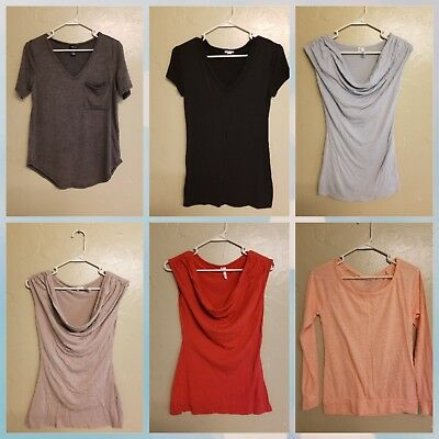 Look! Nice Lot Of Women Size Small And Xs Tops And Tees