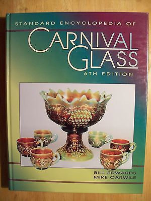 CARNIVAL GLASS $$$ PRICE GUIDE COLLECTOR'S BOOK  406 Pages Hardback COLOR PICS