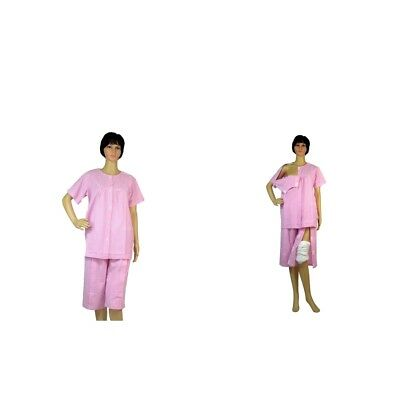 Hospital Patient Clothes With Magic Sticker Easy On and off Incontinence Aid