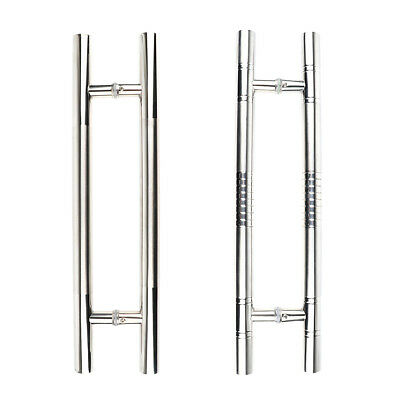 Anti-Slip Stainless Steel Ladder Barn Pull Push Door Handles for Entrance