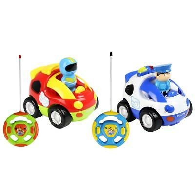 Kids Boys Girls Playing Toys Remote Control Car Children Toy Vehicle+Music Light