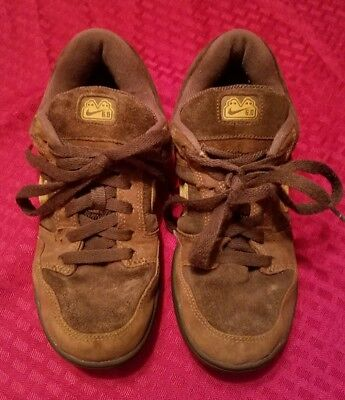 32a50e1067377 Nike Air Zoom Oncore SB 6.0 Skateboard Shoes 312279-271 Youth Size 5 Y Brown