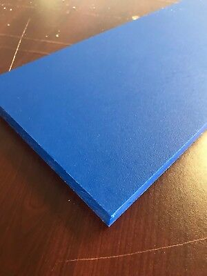 "3/4"" Thick Blue Starboard 6"" x 16"""