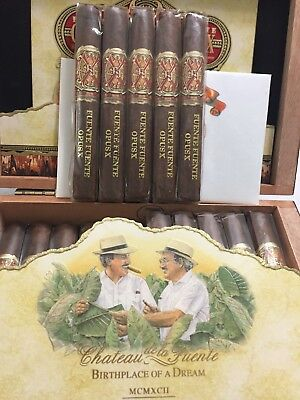 "Fuente Fuente Opus X Perfection # 5 4 7/8"" x 40 Selling in lots of 5"
