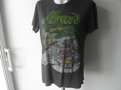 POISON 'FLESH & BLOOD TOUR' Black T-Shirt ~ M