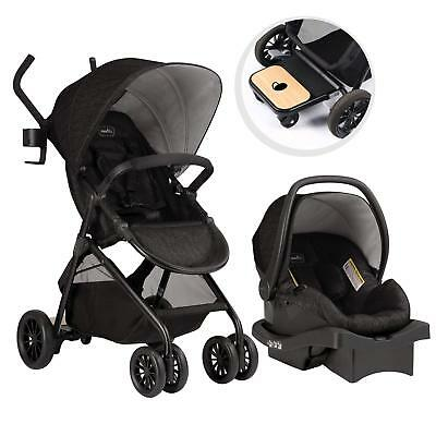 Evenflo Sibby Travel System Charcoal
