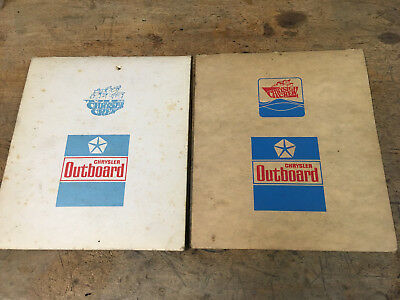 Vintage go kart West Bend Chrysler outboards gasket kit envelopes G2725-1 580v5